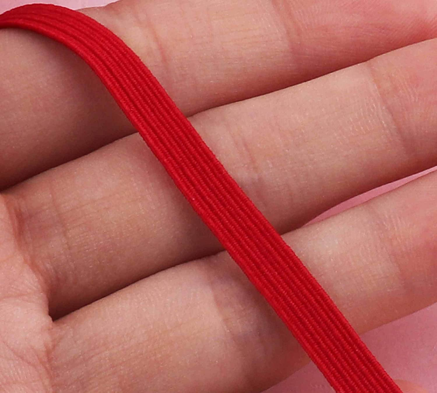 Amazon Com Elastic Bands For Face Mask 1 4 Inch Braided Elastic
