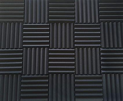 amazon com soundproofing acoustic studio foam wedge style panels