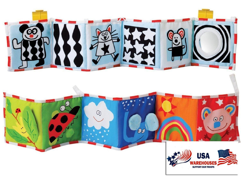 Taf Toys Clip On Pram Book TAF10635