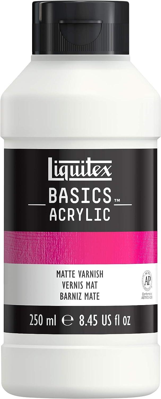 Liquitex BASICS Matte Varnish, 250ml