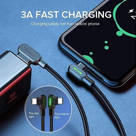 Dorime 3m Tipo de Carga rápida USB Tipo-c Cable USB Cable de ...