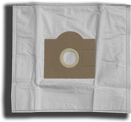 Staubbeutel 2 Filter 10 Staubsaugerbeutel für Fakir Red Devil SC-Klasse