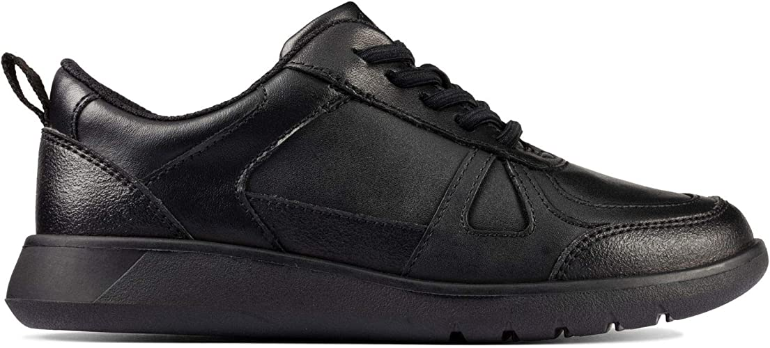 Clarks Scape Track Kid Leather Shoes in