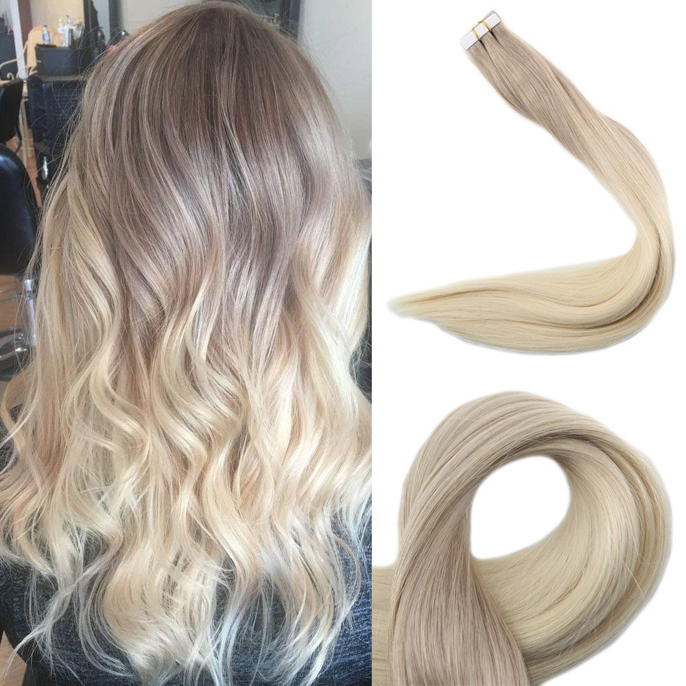 Amazon Full Shine 14 Inch 50gram Balayage Tape In Hair