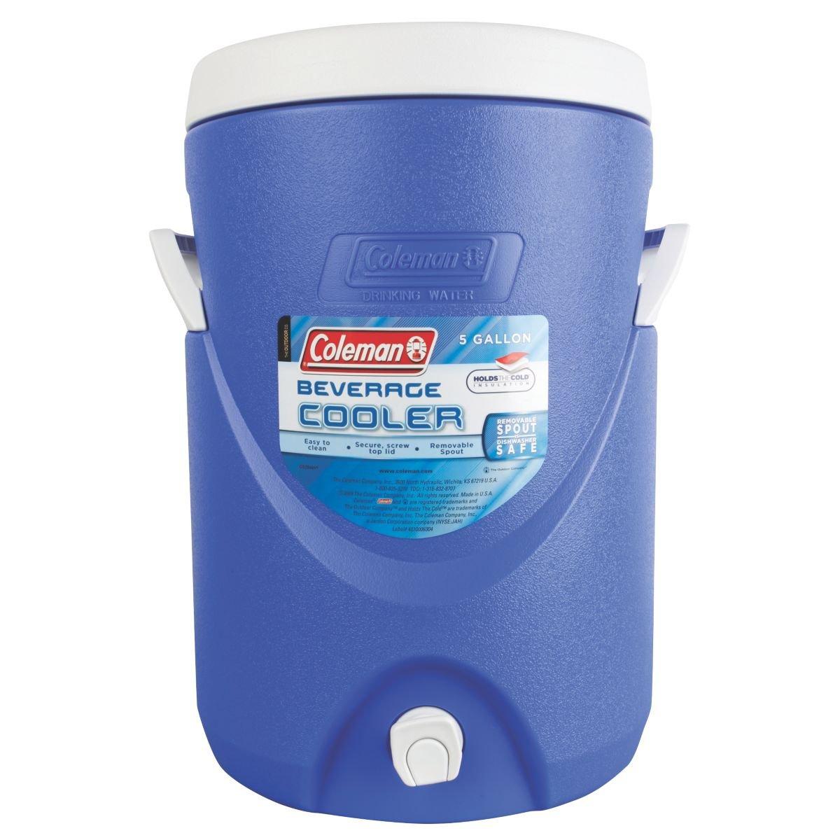 water cooler coleman 5 gallon beverage cold jug drink dispenser camping game new 691163401423 ebay. Black Bedroom Furniture Sets. Home Design Ideas