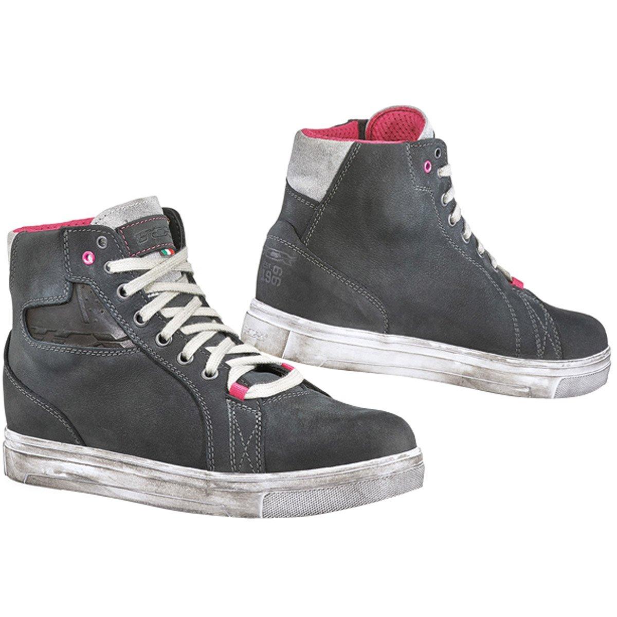 TCX Street Ace Lady Waterproof Women's Street Motorcycle Shoes - Dark Grey / 39 426-16339