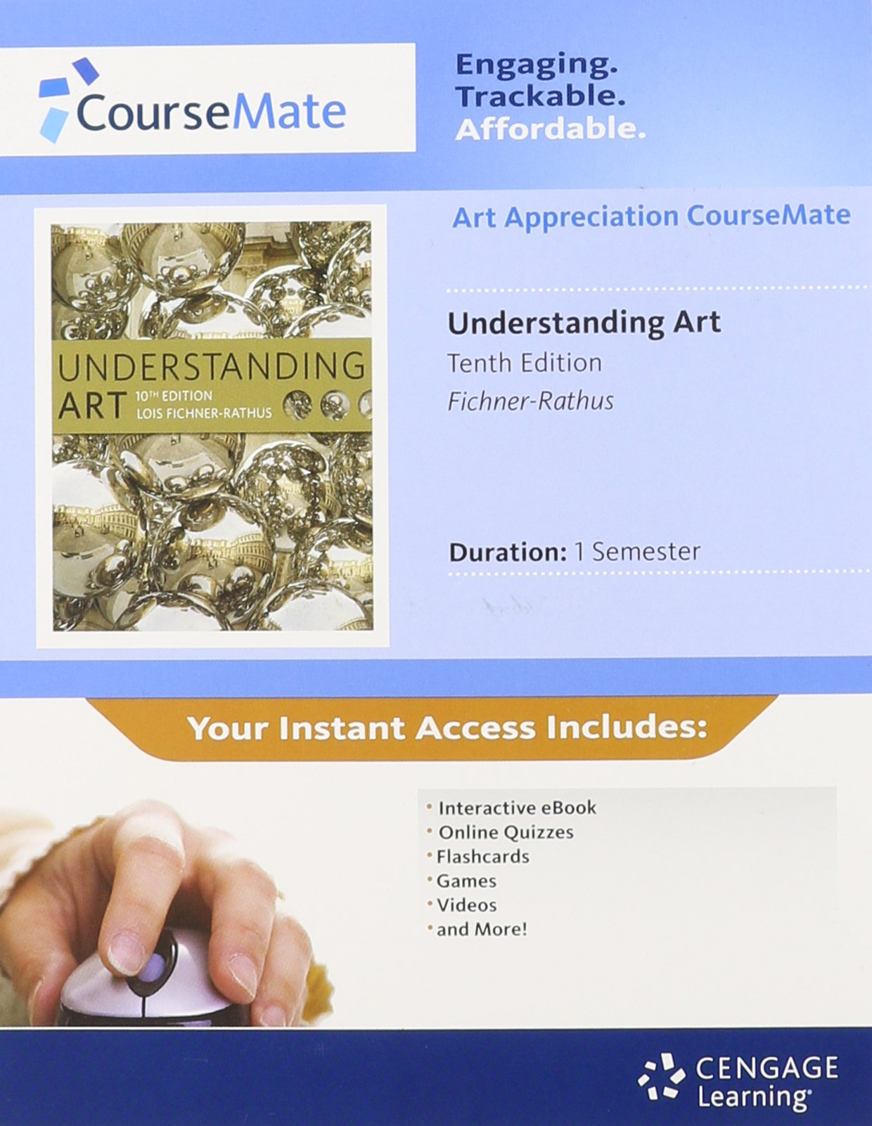 Understanding Art Coursemate A Fichner Rathus 9781111838317