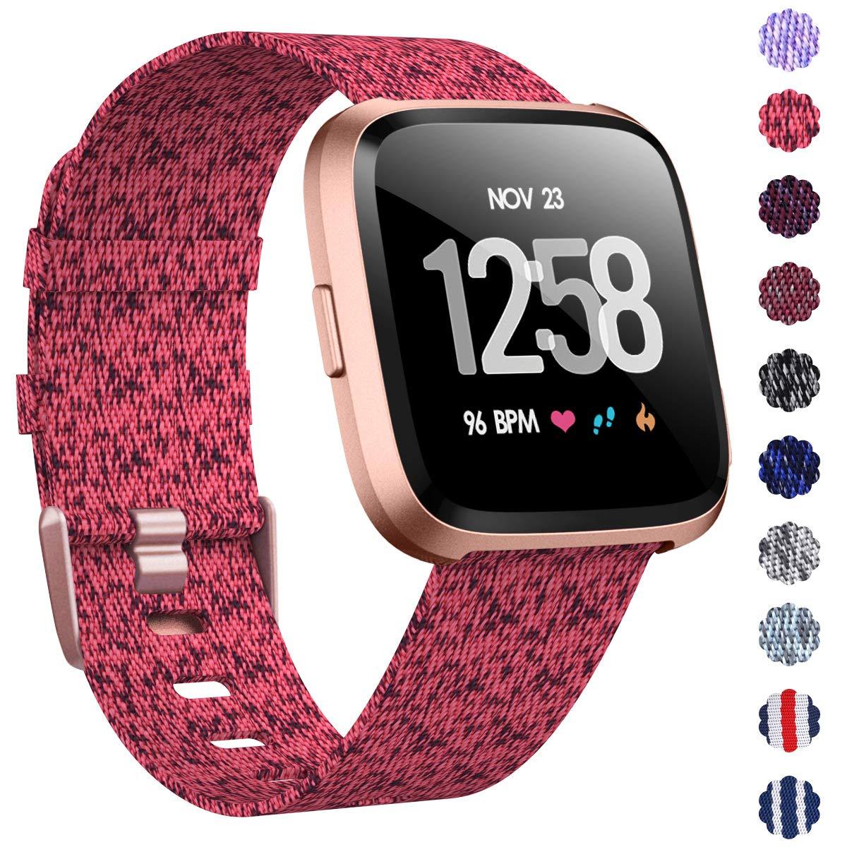 Malla Reloj Fitbit Versa/fitbit Versa 2 (fluorescent Pink)