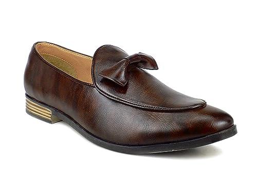 Ripley Brooklyn UKMNSH180517A97 - Mocasines de sintético para Mujer Amarillo Negro 39 EU: Amazon.es: Zapatos y complementos