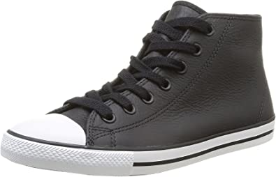 converse femmes leather