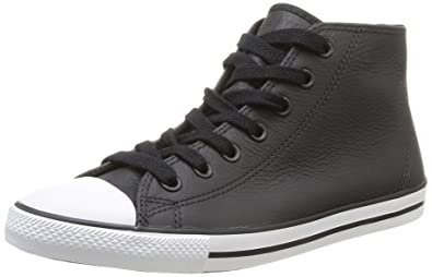 Converse Womens As Dainty Femme Leather Mid Trainers