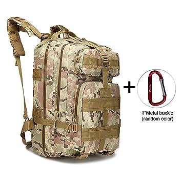Militar Táctico Mochila Grande ejército 3 día Asalto Pack Molle Bug Out Bag Mochilas Mochilas para