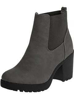 Bottes Sacs Chaussures Chelsea Elara Femme Et UWOxHBdqn