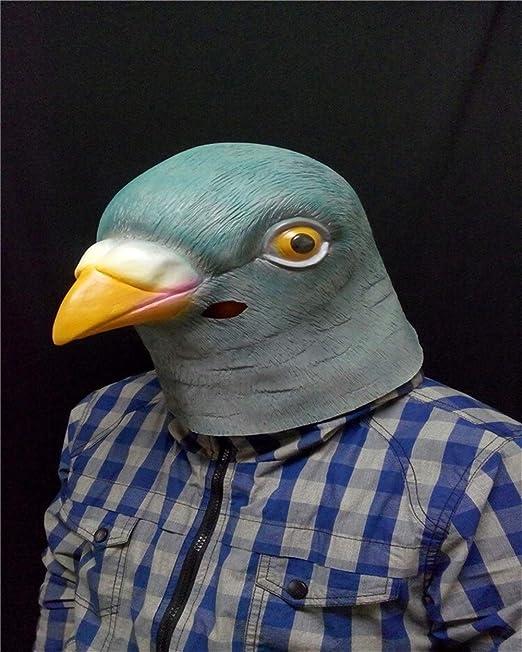 MYASOB Las máscaras de Disfraces Las máscaras de látex Paloma ...