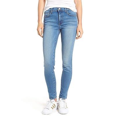 Current/Elliott Mid Rise Stiletto Skinny Stretch Jean