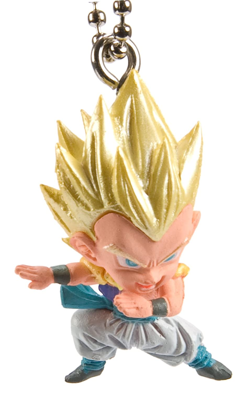 Dragon Ball Z Kai UDM Burst 07 Mascot Figure Keychain - SS Gotenks Toy Zany