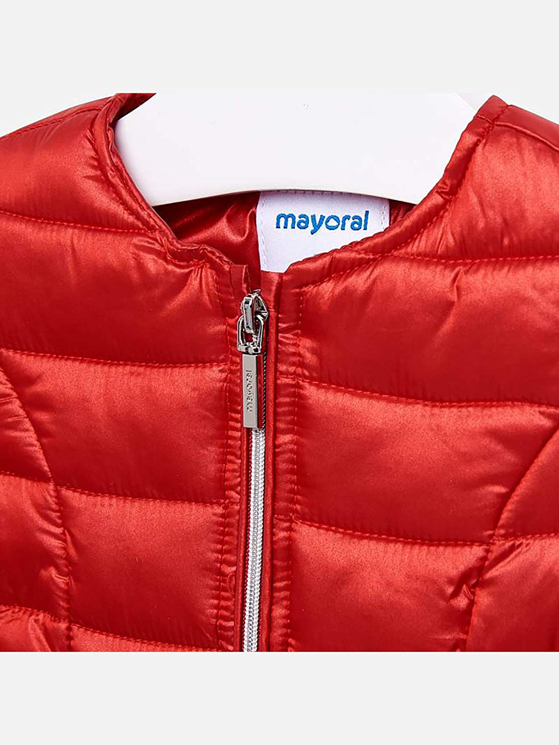 Mayoral Red 1423 Soft Windbreaker for Baby-Girls