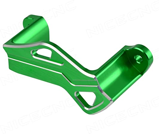 10-14 Overseas model NICECNC Green Rear Brake Caliper Guard Cover for Kawasaki KX250F 2004-2017 KX450F 2006-2017 KLX 450 2008-2009 ,RMZ250 2004-2006