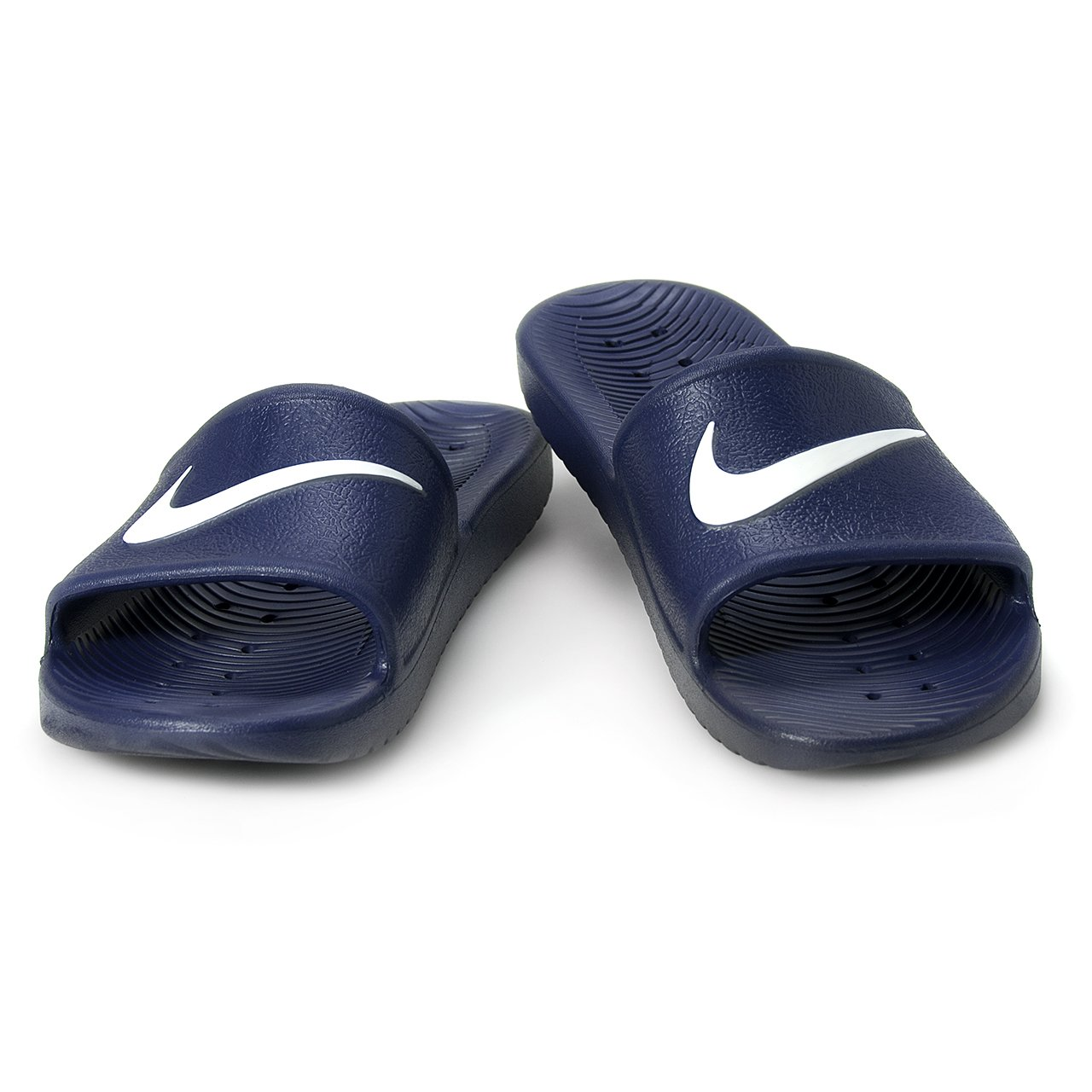 Nike Herren Kawa Shower Dusch- Badeschuhe  38 1/2 marine - wei?