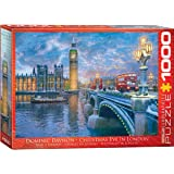 EuroGraphics Christmas Eve in London Puzzle (1000 Piece)