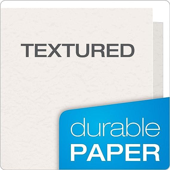 Oxford 57702 doble bolsillo carteras, color blanco: Amazon.es: Oficina y papelería