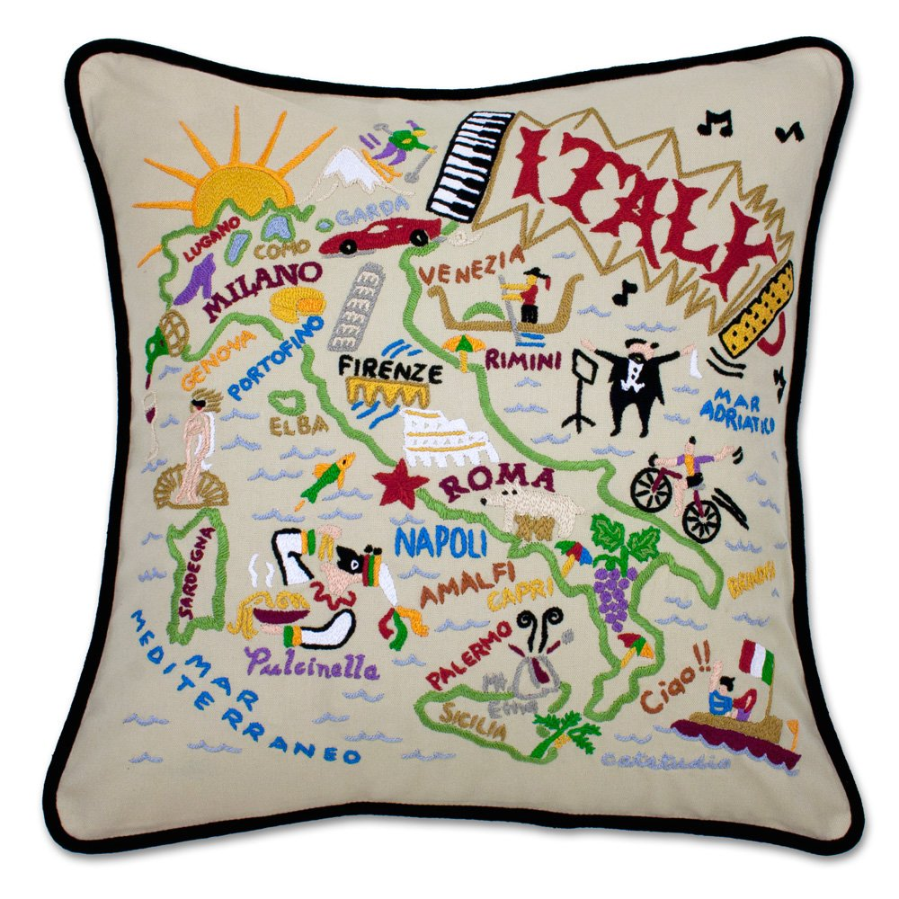 Catstudio Italy Pillow - Geography Collection Home Décor 067(CS)