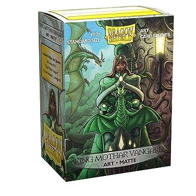 Dragon Shield Sleeves Limited Edition Matte Art: King Mothar Vanguard: Portrait(100): Toys & Games