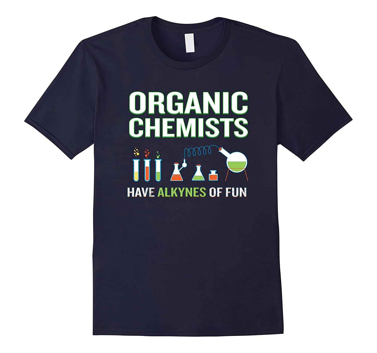 Chemists Have Alkynes of Fun T-Shirt Funny Science Pun-CD
