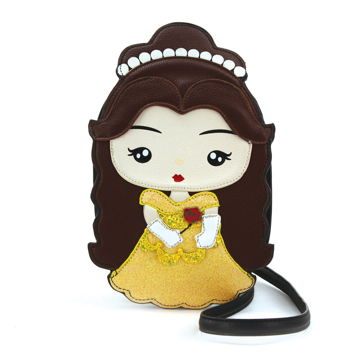 Sleepyville Critters Belle Inspired Princess Beauty Fairy Tale Crossbody Purse