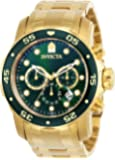 Invicta Men's 0075 Pro Diver Chronograph 18k...