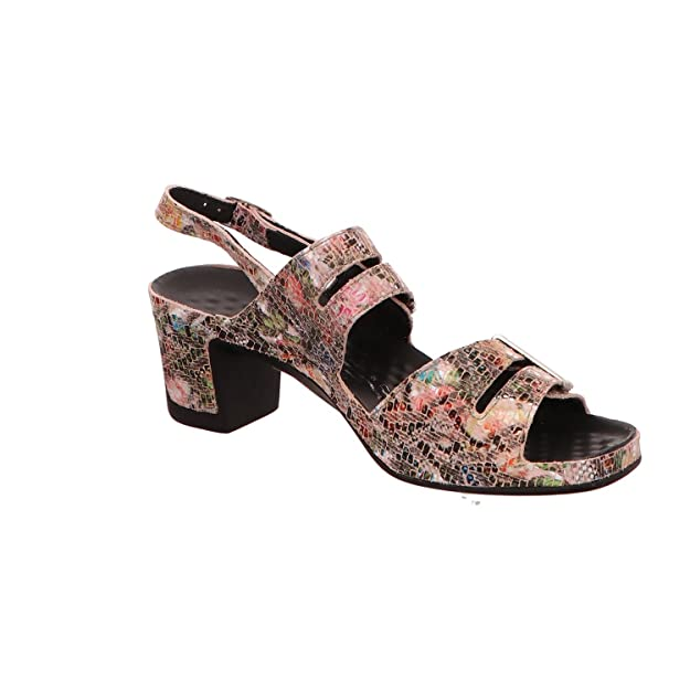 Vital Joy 0506-16182- Damenschuhe Sandalette/Sling, Mehrfarbig, Leder, Absatzhöhe: 50 mm
