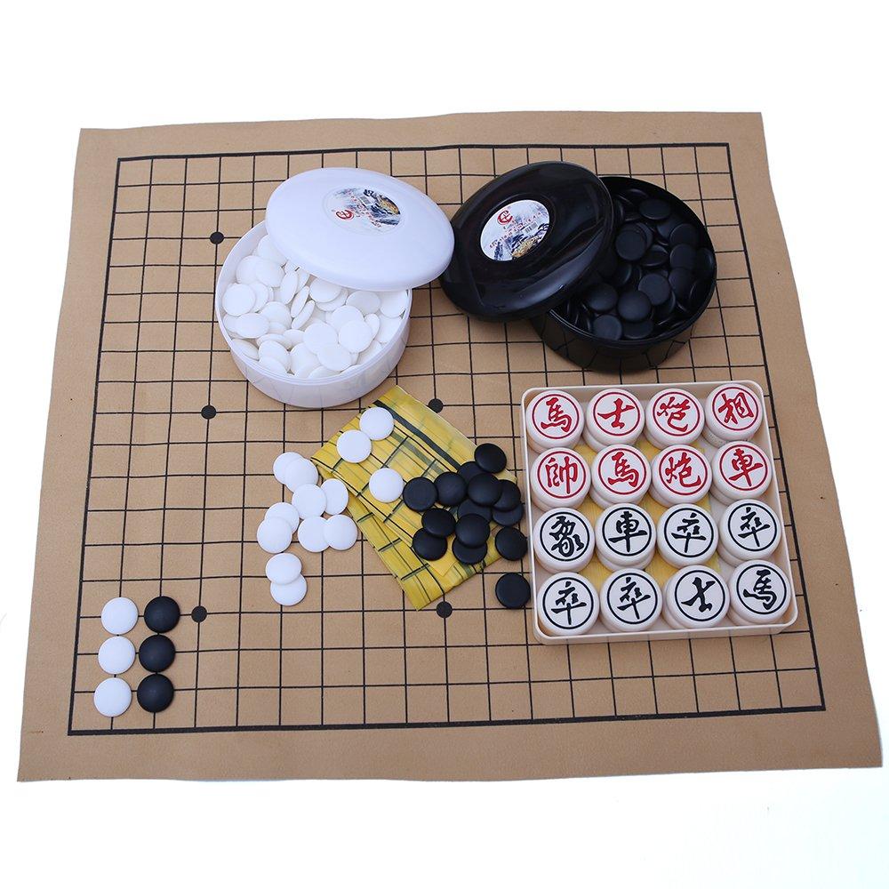超美品の Standard Resin Chinese Resin Game Go and Chess Game and Set B01M5B5AD3, 島道具:559293dd --- cygne.mdxdemo.com