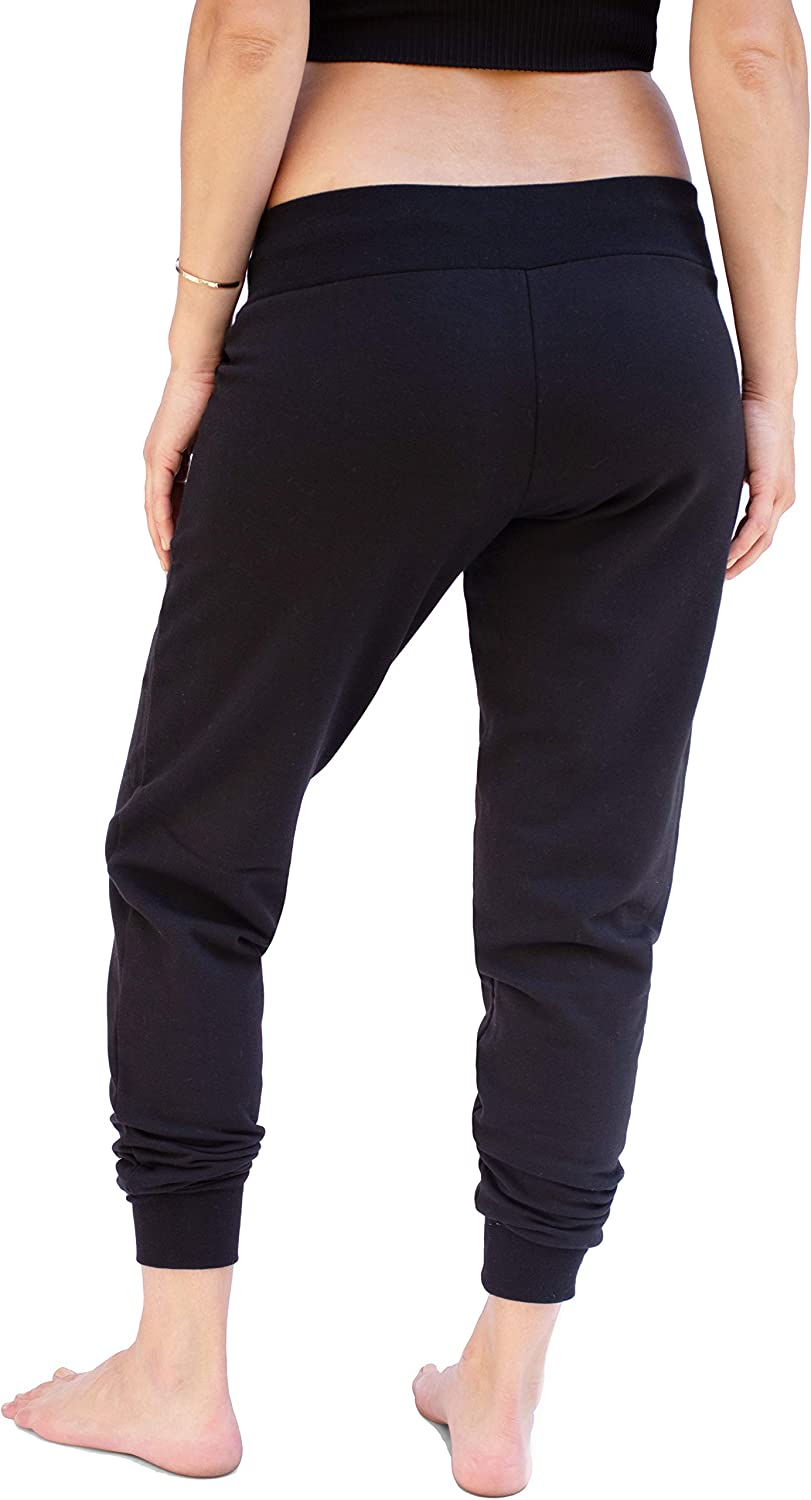Ingrid & Isabel Knit Maternity Jogger | Under Belly Fit | Pregnancy Loungewear: Clothing