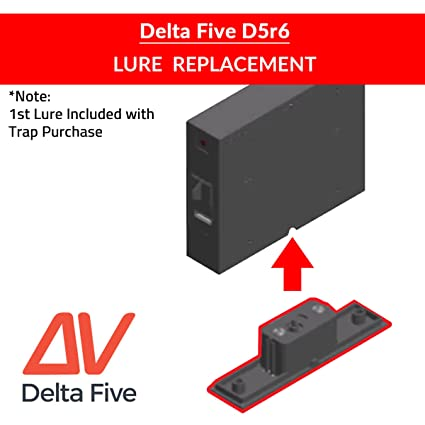 Amazon Com Lure Replacement Refill For Delta Five Bed Bug Trap