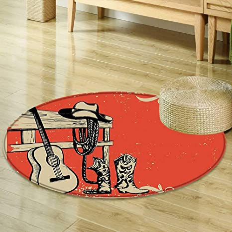 Amazon Com Mikihome Area Silky Smooth Rugs Western Decor