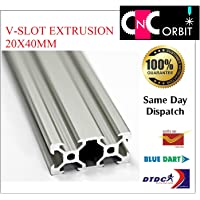 cnc-orbit 2040 V-Slot Aluminium Extrusion Openbuilds Linear Profile, 3D Printers, 500 mm