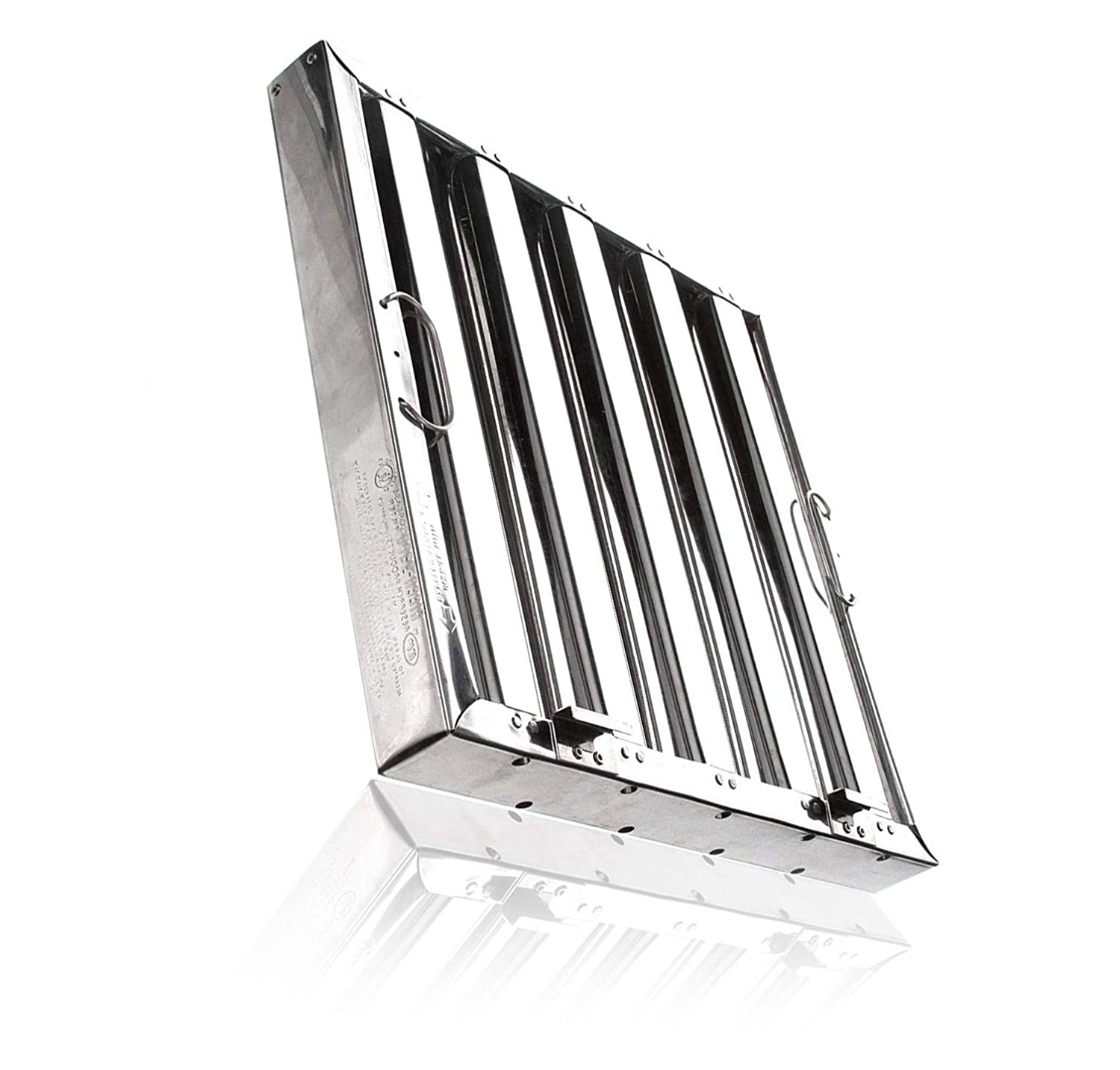 Captive Aire Systems Stainless Steel Restaurant Hood Filter, 16' high x 20' wide 16 high x 20 wide