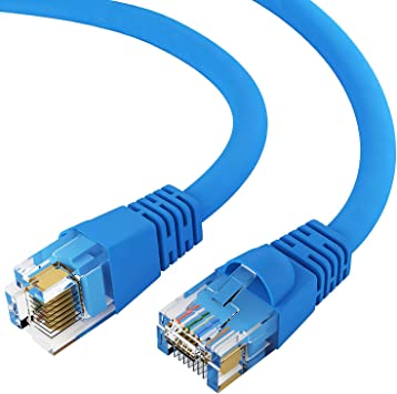 Blue 15-feet premium Cat6 Patch LAN Ethernet Network Cable 10 Pack