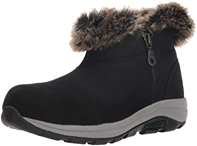 ebe2579725 Columbia Women's Bangor Shorty Omni-Heat Ankle Boot, Black, Graphite, 6  Regular