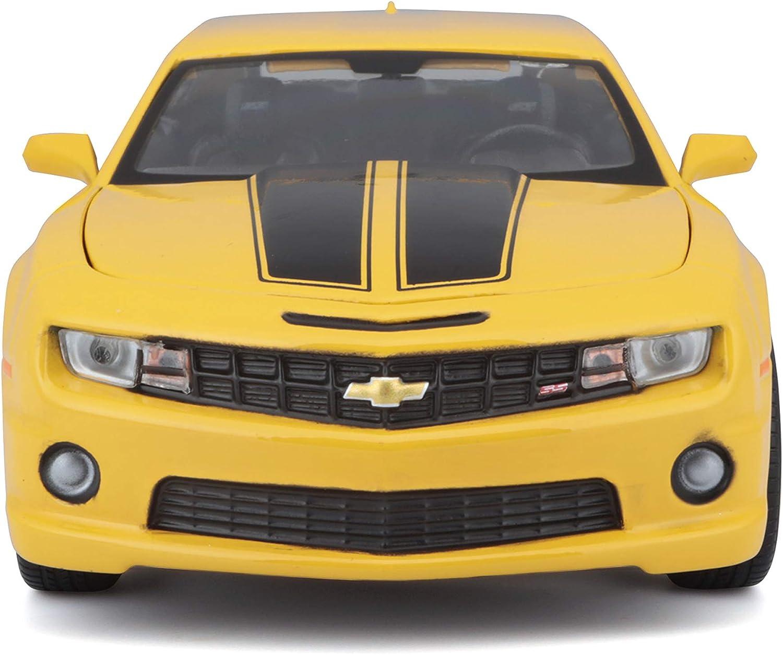 Chevrolet Camaro SS RS gelb//schwarz  2010   1:24 MAISTO   />/>NEW/</<
