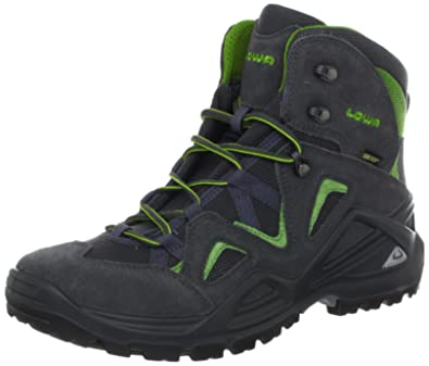 Lowa Men's Zephyr GTX Mid Hiking Boot,Anthracite/Green,8.5 ...