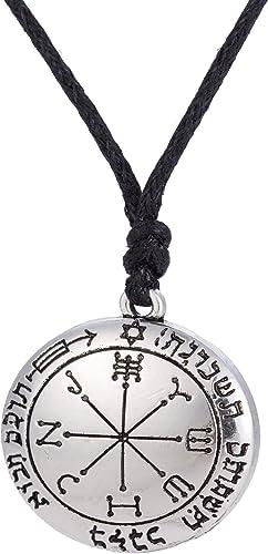 LIKGREAT Solomon The Sigil of Archangel Series Pendant Necklace for Men Women