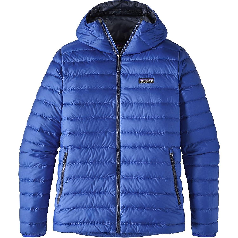 パタゴニア アウター ジャケット&ブルゾン Patagonia Down Sweater Hooded Jacket M Viking Blu 111 [並行輸入品] B075JZWQLZ