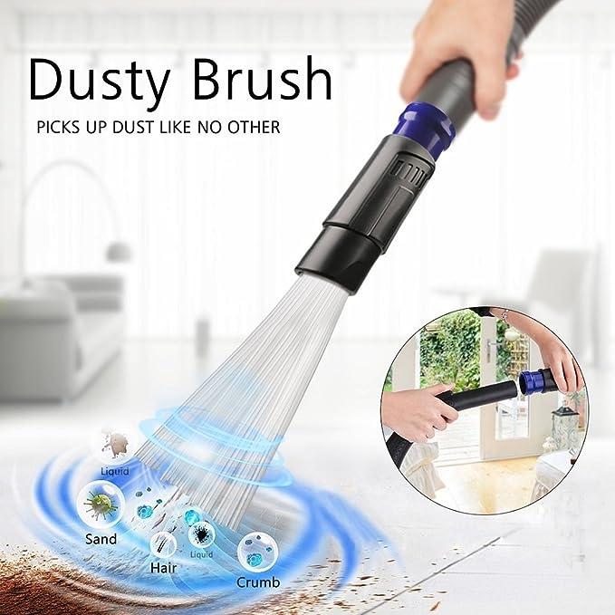 Staubsauger Aufsatz Dust Master Staub Pinsel für schwer erreichbare Stellen