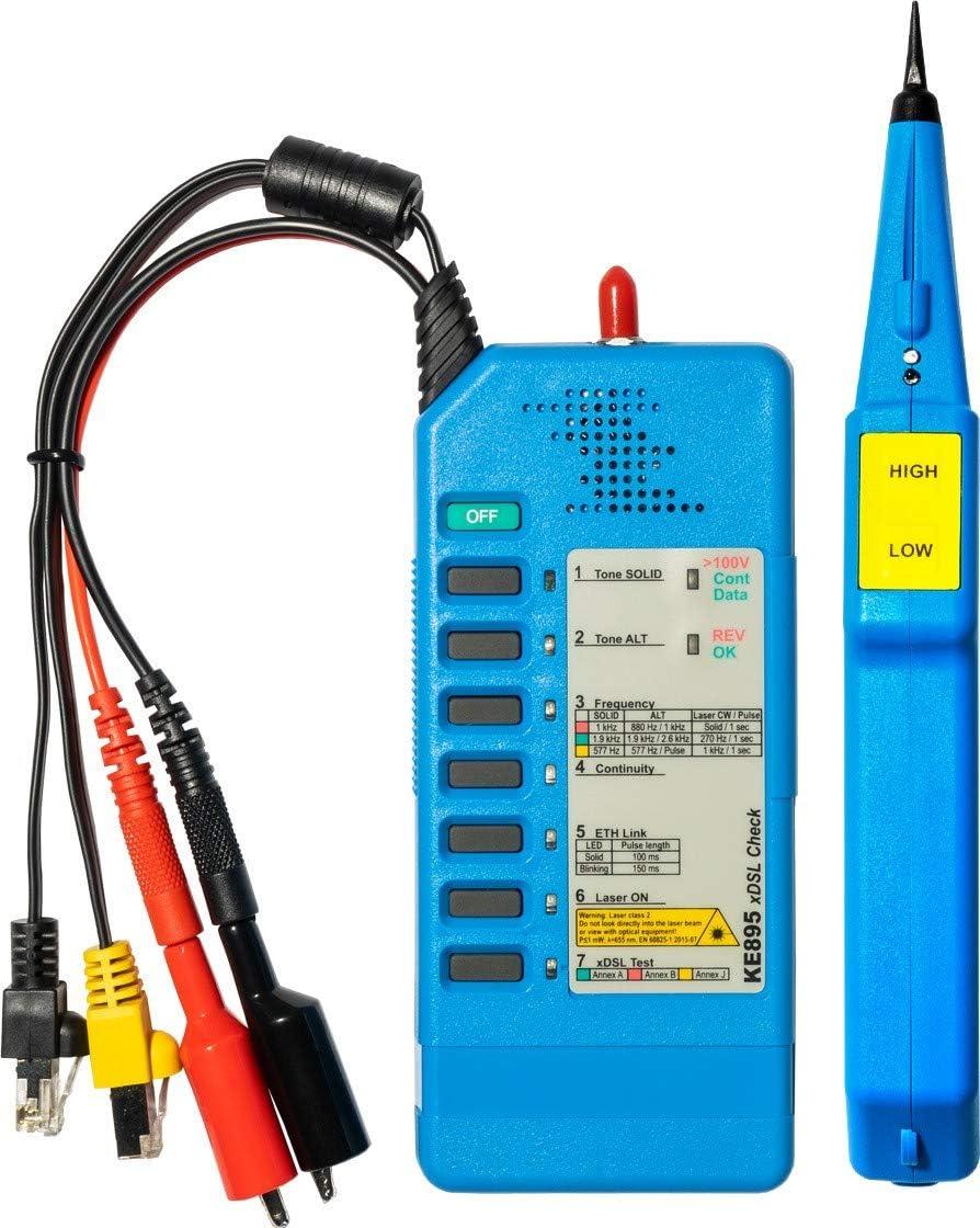 Kurth Ke3150 Xdsl Detection Kit Dsl Aktivitätstest Elektronik