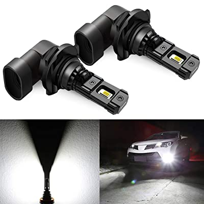 JDM ASTAR High Performance Bright White 1:1 Design 9006 LED Fog Light Bulbs: Automotive