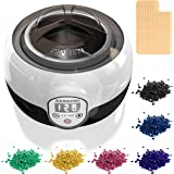 Maximum Power Wax Warmer Kit, RADINUDO Hair Removal Waxing Kit with 6 Flavors Stripless Hard Wax Beans (21oz) Wax…