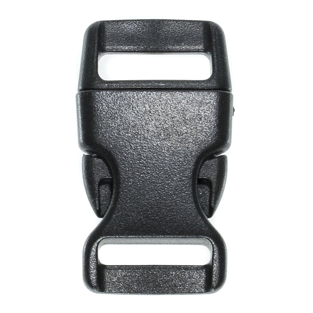 Multiple Size and Quantity PARACORD PLANET Brand Contoured Side Release Black Buckle 5//8 Inch, 25 Pack