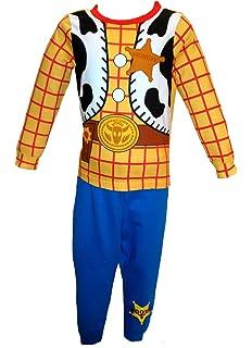 Boys Kids Infants Toy Story Woody Character Novelty Pyjamas 100/% Cotton 18M-6Yrs