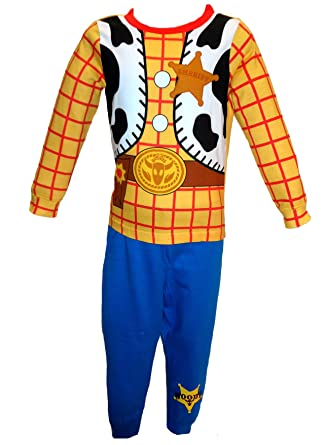 Age 18-24 Months to 5-6 Years Toy Story Woody Cowboy Pyjamas